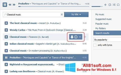 Skærmbillede SaveFrom.net Windows 8.1